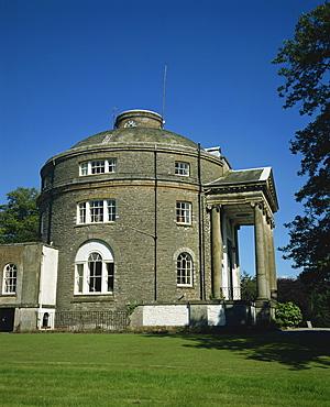 Round House, Belle Isle, Windermere, Cumbria, England, United Kingdom, Europe