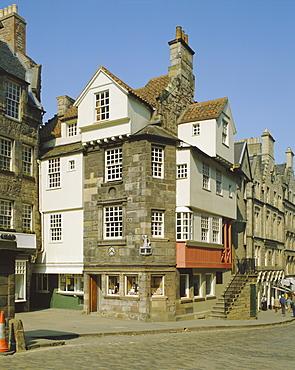 John Knox House, Edinburgh, Lothian, Scotland, UK, Europe