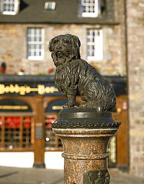 Greyfriars Bobby, Edinburgh, Scotland, United Kingdom, Europe