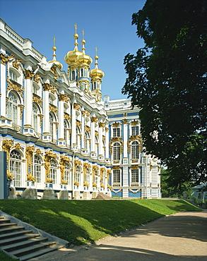 Catherine Palace near St. Petersburg, Russia, Europe