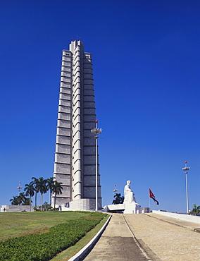Jose Marti Monument, Plaza de la Revolucion, Havana, Cuba