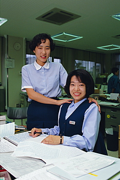 Japanese office workers, Tokyo, Japan, Asia