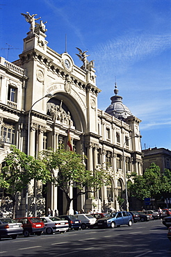 Post Office and Telegraph Building, Valencia, Spain, Europe