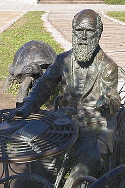 Sculpture of Darwin, Science Park, Granada, Andalucia, Spain, Europe