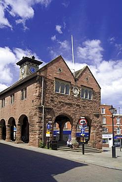 Market Hall, Market Place, Ross on Wye, Herefordshire, England, United Kingdom, Europe