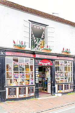 Post Office and Village Store, Alfriston, East Sussex, England, United Kingdom, Europe