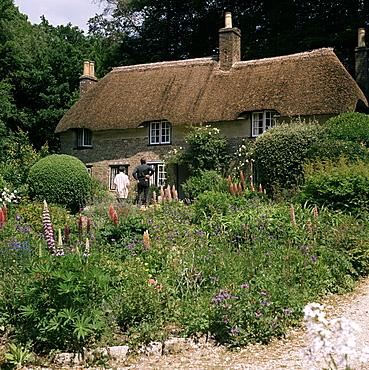 Thomas Hardy's cottage, Bockhampton, near Dorchester, Dorset, England, United Kingdom, Europe