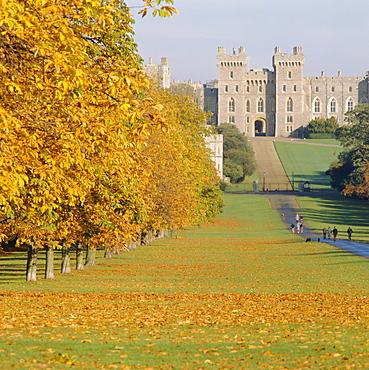 Windsor Castle in autumn, Berkshire, England