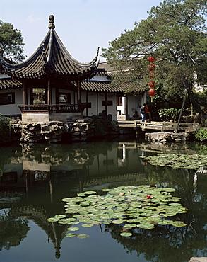 Wangshi Garden, Suzhou, China, Asia