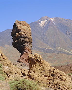 Mount Teide from Los Roques, Tenerife, Canary Islands, Spain