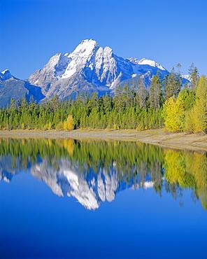 Jackson Lake, Colter Bay, Grand Teton National Park, Wyoming, USA