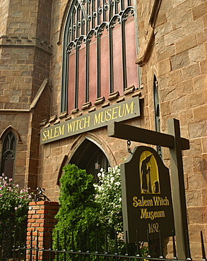 Salem Witch Museum, Salem, Massachusetts, New England, United States of America, North America