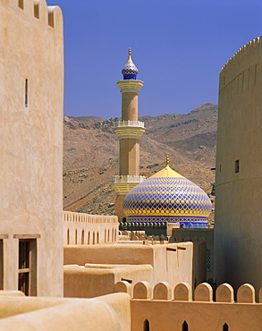 Mosque from the Fort, Nizwa, Oman