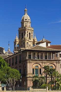Cathedral and Episcopal Palace, Murcia, Spain, Europe