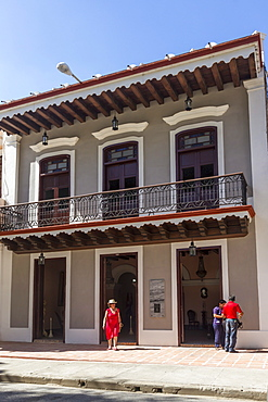 Birthplace of Carlos Manuel de Cespedes, 1819-1874, Cuban revolutionary, known as Father of the Country, Bayamo, Cuba, West Indies, Caribbean, Central America