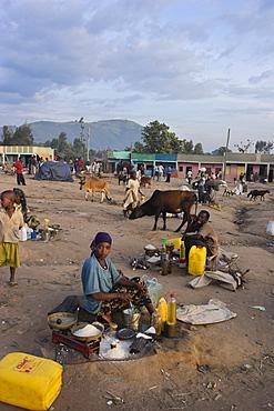 Market, Jinka, Lower Omo Valley, Ethiopia, Africa