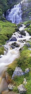 Waterfall near Uig, Isle of Lewis, Outer Hebrides, Scotland, United Kingdom, Europe