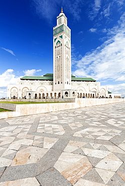 Hassan II Mosque (Grande Mosquee Hassan II), Casablanca, Morocco, North Africa, Africa