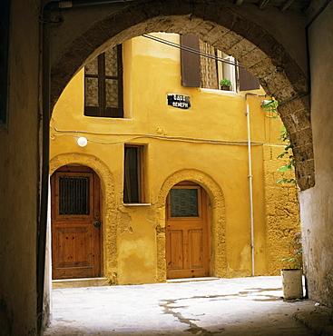 Venetian architecture, Xania, island of Crete, Greek Islands, Greece, Europe
