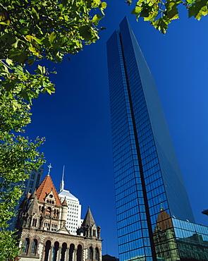 John Hancock Tower, Boston, Massachussetts, United States of America, North America - 350-270