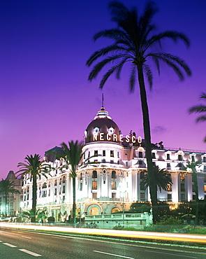 Negresco Hotel, Nice, Alpes Maritimes, Cote d'Azur, French Riviera, Provence, France, Europe