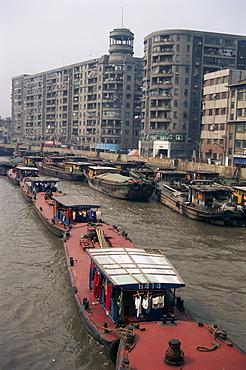Suzhou Creek, Shanghai, China, Asia