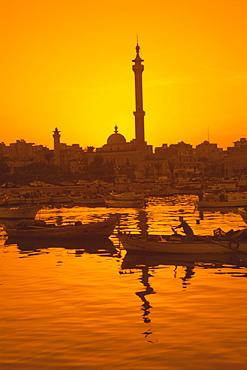 El Mina mosque and port, Tripoli, Lebanon, Middle East
