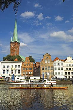 Hanseatic city of Lubeck, UNESCO World Heritage Site, Schleswig Holstein, Germany, Europe