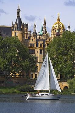 Schwerin, West Pommerania Mecklenburg, Germany, Europe