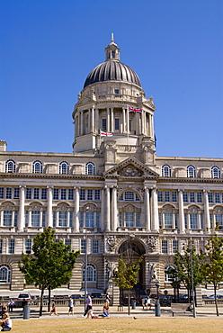 Port of Liverpool Building, Liverpool, Merseyside, England, United Kingdom, Europe