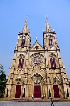 Stone Church Sacred Heart of Jesus, Guangzhou (Canton), Guangdong, China, Asia