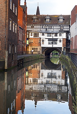 Lincoln High Bridge (Glory Hole), Lincoln, Lincolnshire, England, United Kingdom, Europe