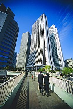 Financial district, Tokyo, Japan