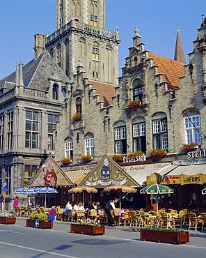 Capital of Veurne, West Vlaanderen, Veurne, Belgium