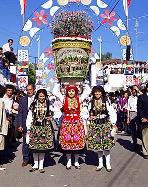 Parade, Villa Franca do Lima, Costa Verde, Portugal, Europe