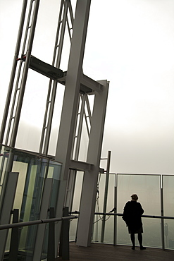 Viewing gallery on the 72nd floor of the Shard, London Bridge, London, England, United Kingdom, Europe