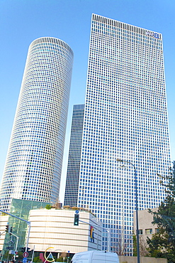 The Azrieli Center, Tel Aviv, Israel, Middle East