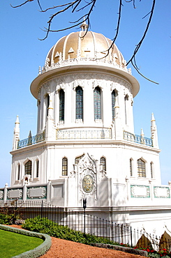 The Shrine of the Bab, Haifa, Israel, Middle East
