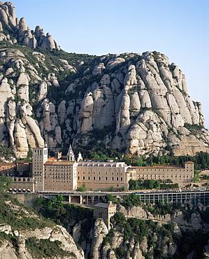 Monastery of Montserrat, Catalonia, Spain, Europe