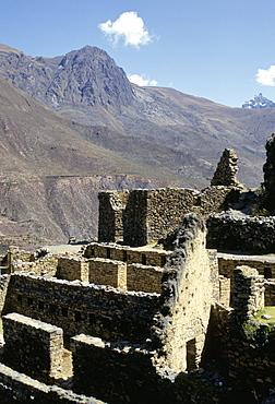 Inca fortress, Ollantaytambo, Peru, South America