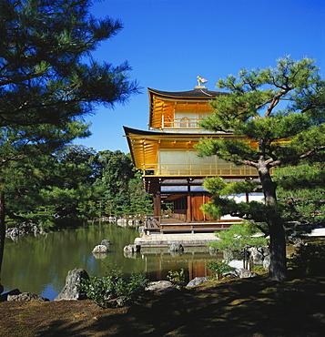 Kinkakuji Temple, Kansai, Kyoto, Japan