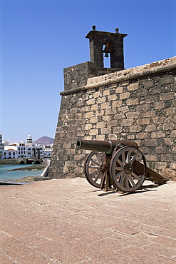 Castillo de San Gabriel, Arrecife, Lanzarote, Canary Islands, Spain, Atlantic, Europe