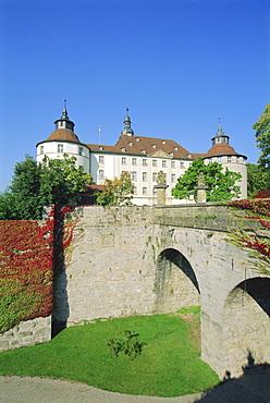 Castle, Langenburg, Baden-Wurttemberg, Germany, Europe