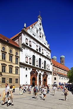 Church St.Michael, Neuhauser Strasse, Munich, Upper Bavaria, Bavaria, Germany, Europe