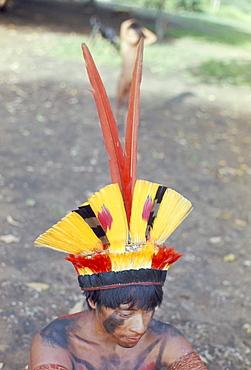 Suya Indian, Brazil, South America (1971)