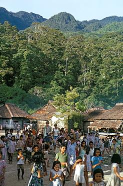 Sawai village, Seram, Moluccas, Indonesia, Southeast Asia, Asia