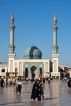 Astane Square in front of the Imam Hassan Mosque, Qom, Iran, Middle East