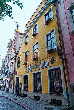 Popular pub for stag nights, Tallinn, Estonia, Europe