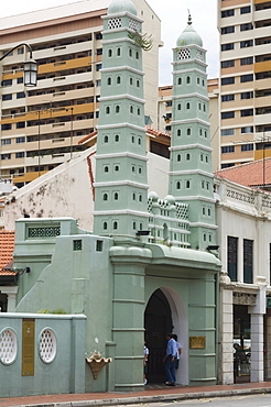 Jamae Mosque in Chinatown, Singapore, South East Asia