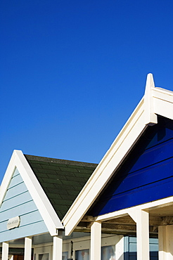 Beach huts, Southwold, Suffolk, England, United Kingdom, Europe